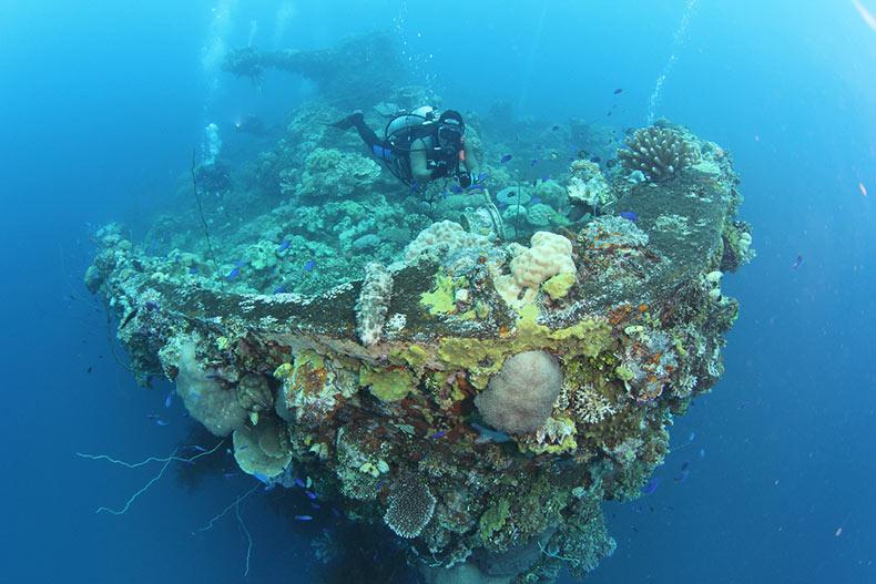 Los naufragios de Truk Laggon | Estados Unidos, Japon, Nueva Guinea