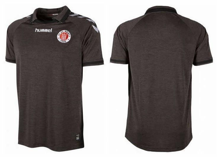O St. Pauli divulgou as suas novas camisas para disputa da 2.Bundesliga na  temporada 2014 2015. Confira abaixo os três modelos  c7cd2ce923b6d