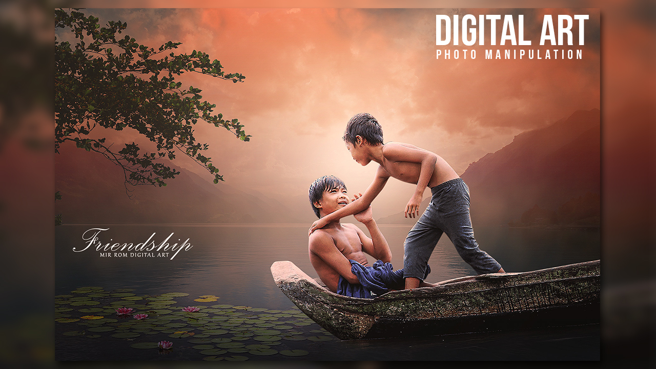 Create a Friendship Beautiful Photo Manipulation In Photoshop CC
