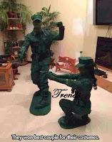 Disfraces de soldaditos de juguete