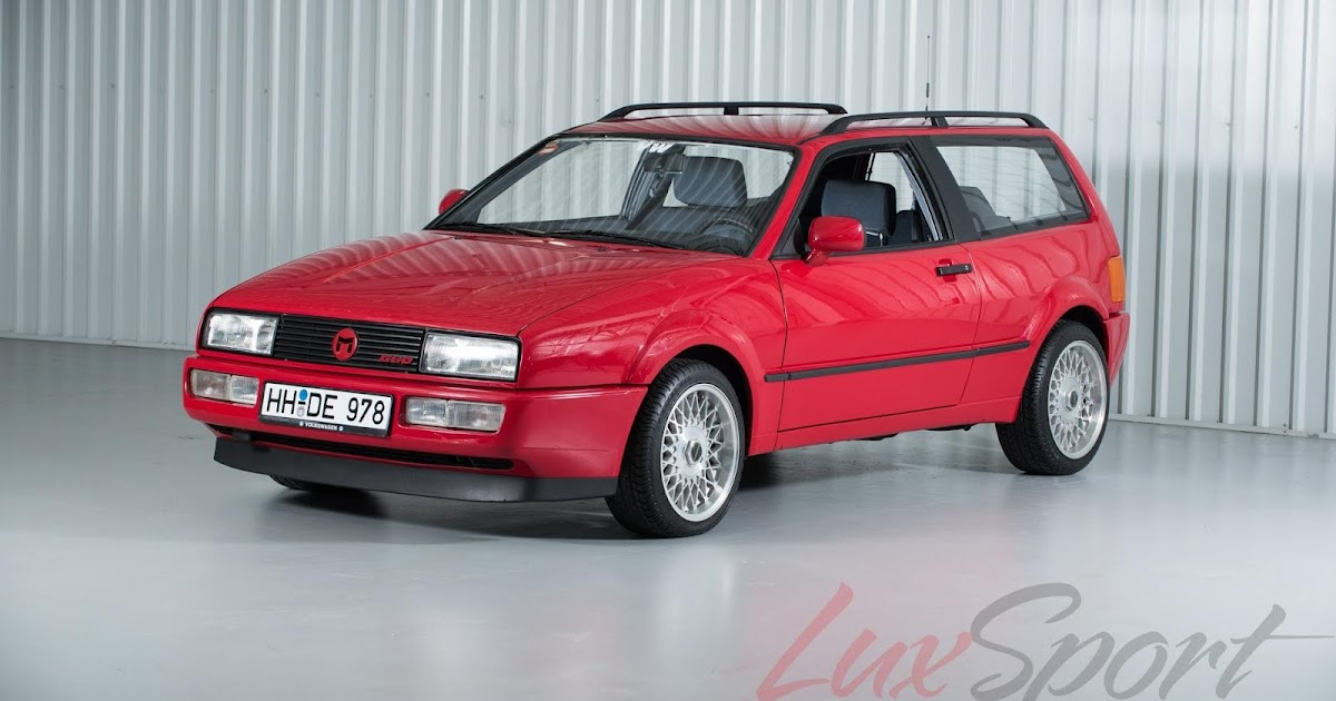 1990 Vw Corrado G60 Magnum Prototype Wagon For Sale