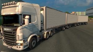 ETS2 Triple Trailer Mod