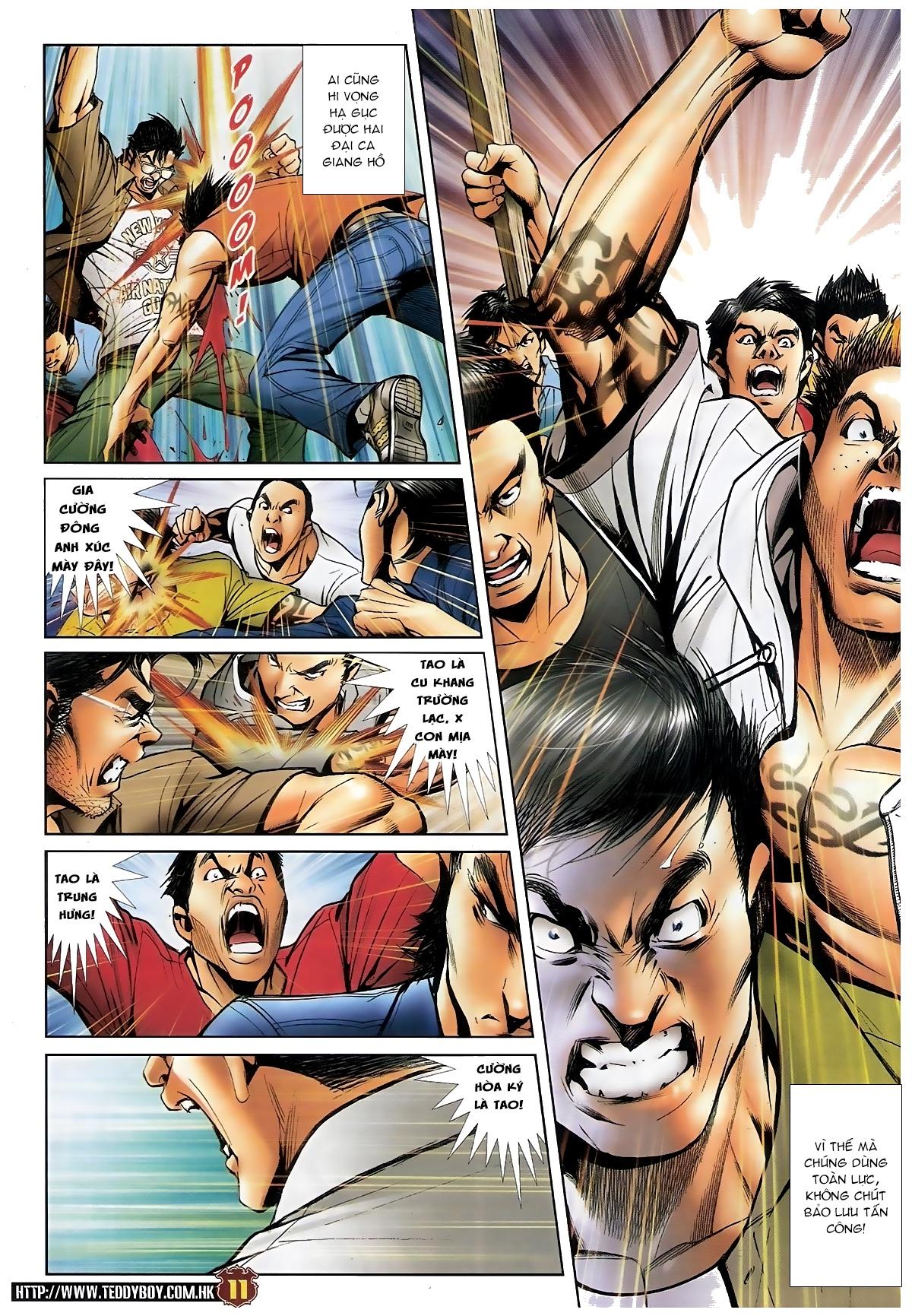 Người Trong Giang Hồ - Chapter 1548: Cha con ra trận - Pic 10