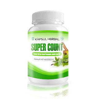 Super Count - Obat Herbal Memperbanyak Sperma