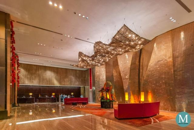lobby of Hilton Guangzhou Tianhe