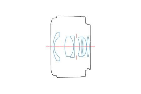 Оптическая схема Yongnuo YN 35mm f/2.0