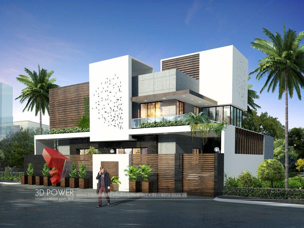 Corporate Building Design 3d Rendering 3d Bungalow