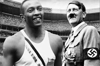 Adolf Hitler y Jesse Owens
