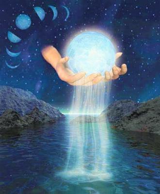 A Lua na Magia