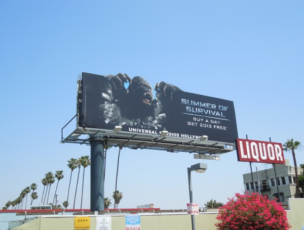 King Kong Summer Survival billboard