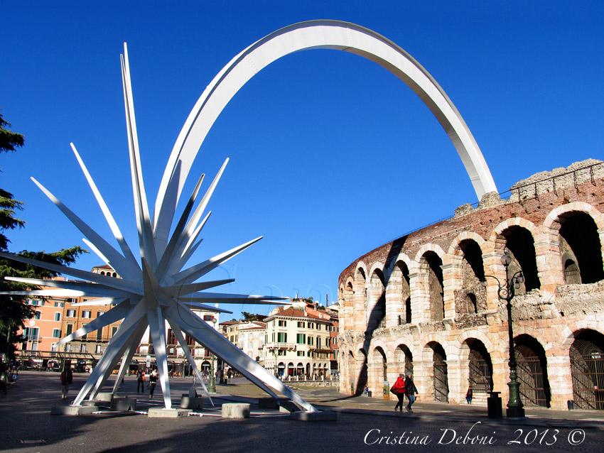 Stella Di Natale A Verona.Esplorando Frizzante E Brillante La Stella Di Natale A Verona