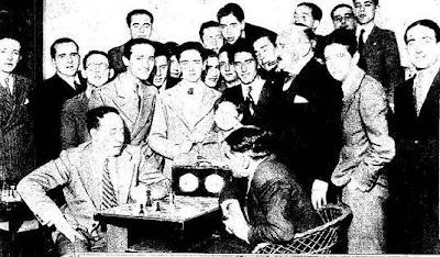 Partida de ajedrez Ortueta-Blum, Torneo de Madrid de 1936
