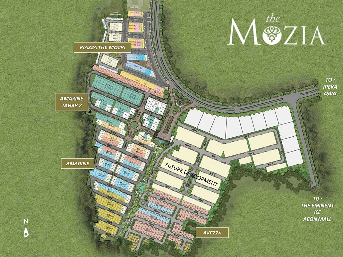 Amarine The Mozia BSD City