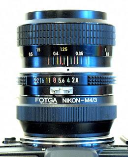 Nikkor Pre-Ai 35mm f/2.8, Top
