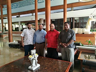 PNG Foreign Minister Pato arrives in Bali for 9th Bali Democracy forum