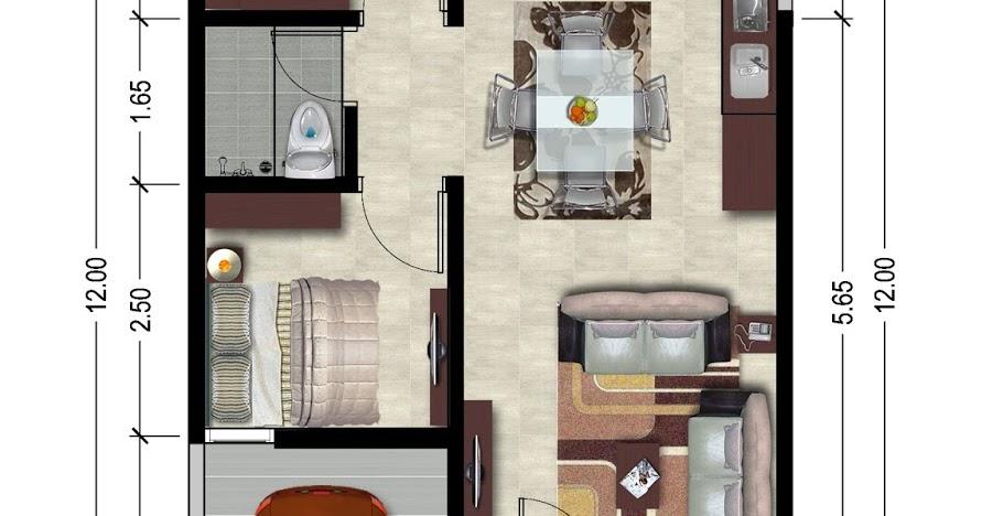 interior: Desain Interior Rumah Type 36 2 Kamar