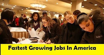 Fastest Growing Jobs In America