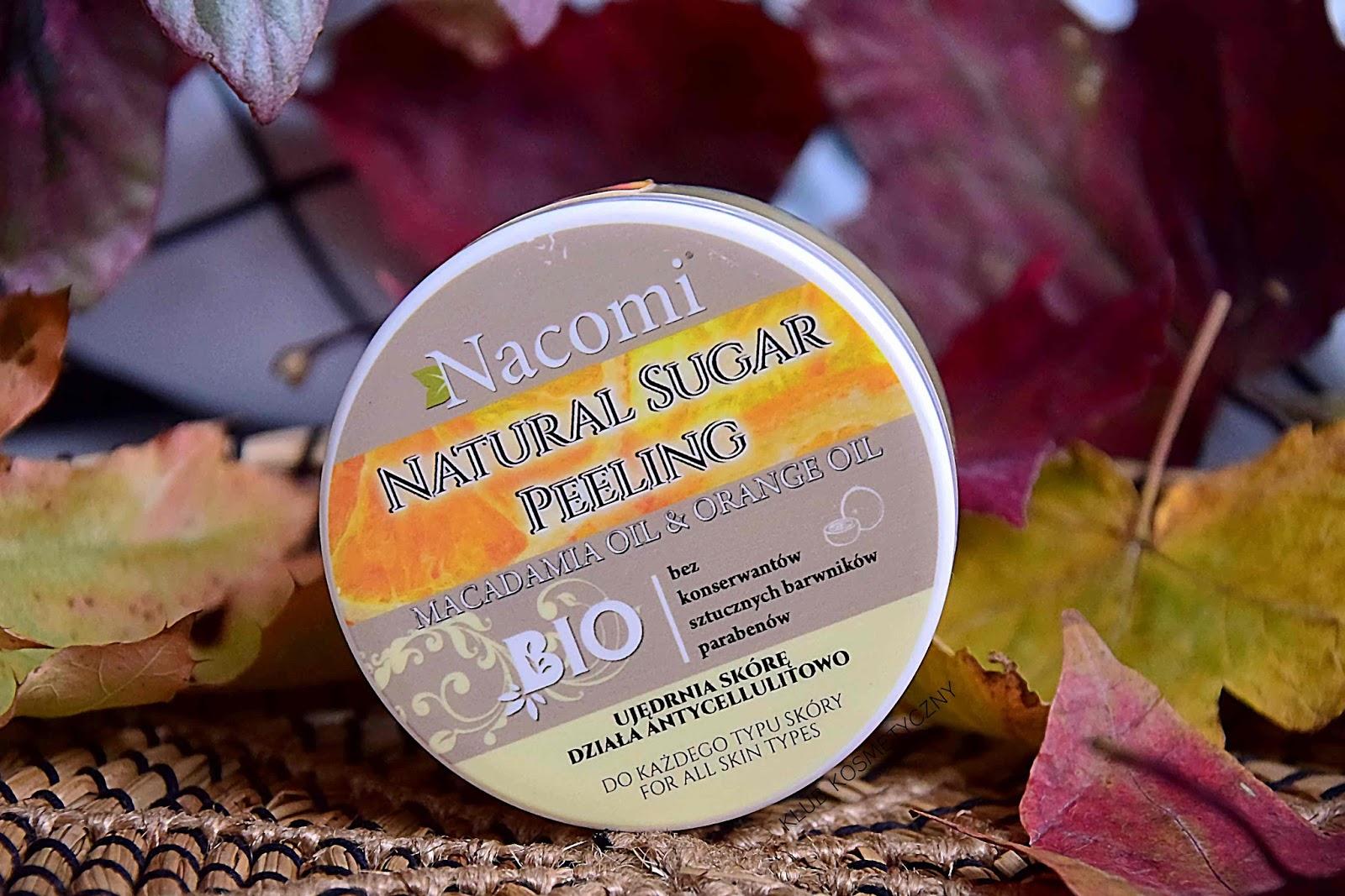 Nacomi Natural Sugar Peeling