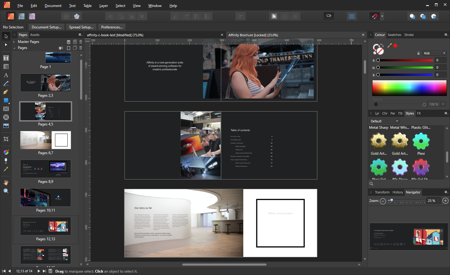 Bitwise Magazine: Affinity Publisher (beta) DTP software preview