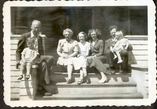 family photo 1950