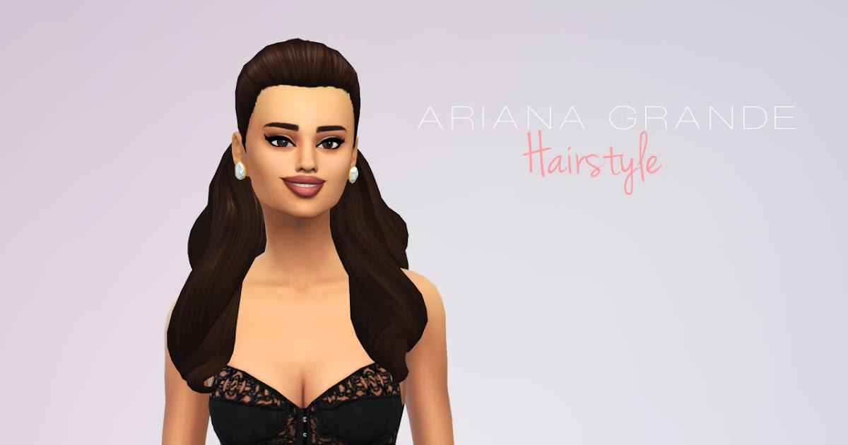 sims 4 ariana grande hair
