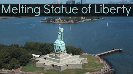 Videokunst von Vincent Ullmann - Melting Statue of Liberty ( 1 Video und Interview )