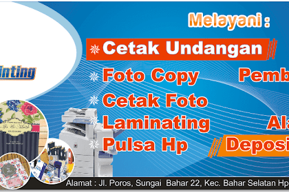 35+ Trends For Contoh Spanduk Fotocopy