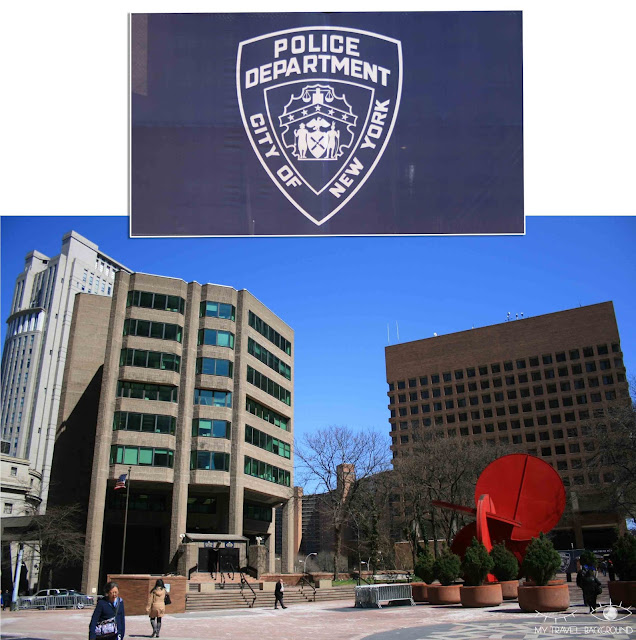 My Travel Background : Une semaine à New York - Police Plaza