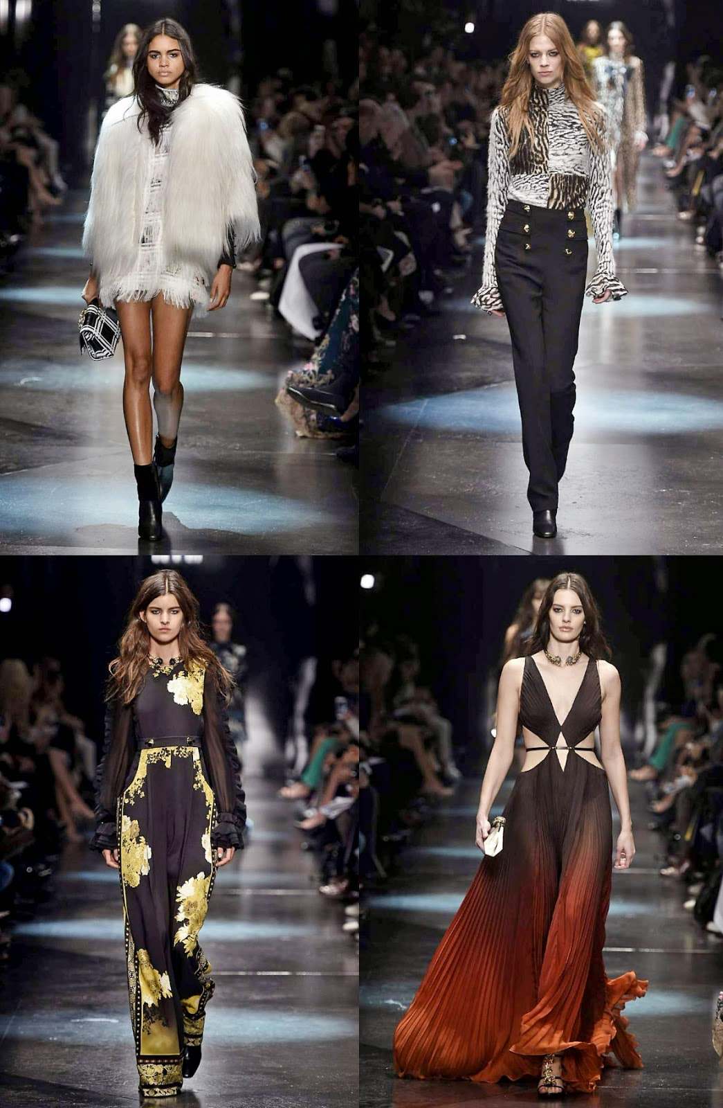 Eniwhere Fashion - Milano Fashion Week - Roberto Cavalli - Fall Winter 2015-2016
