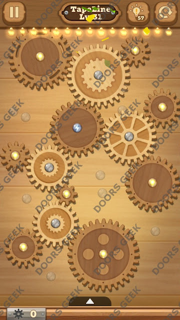 Fix it: Gear Puzzle [TapeLine] Level 31 Solution, Cheats, Walkthrough for Android, iPhone, iPad and iPod