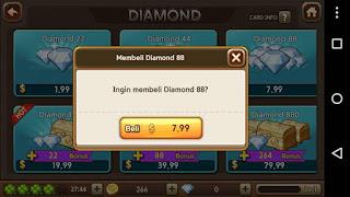 Share Cara Gratis Dapat Kode Kupon DIAMOND LINE Let's Get Rich