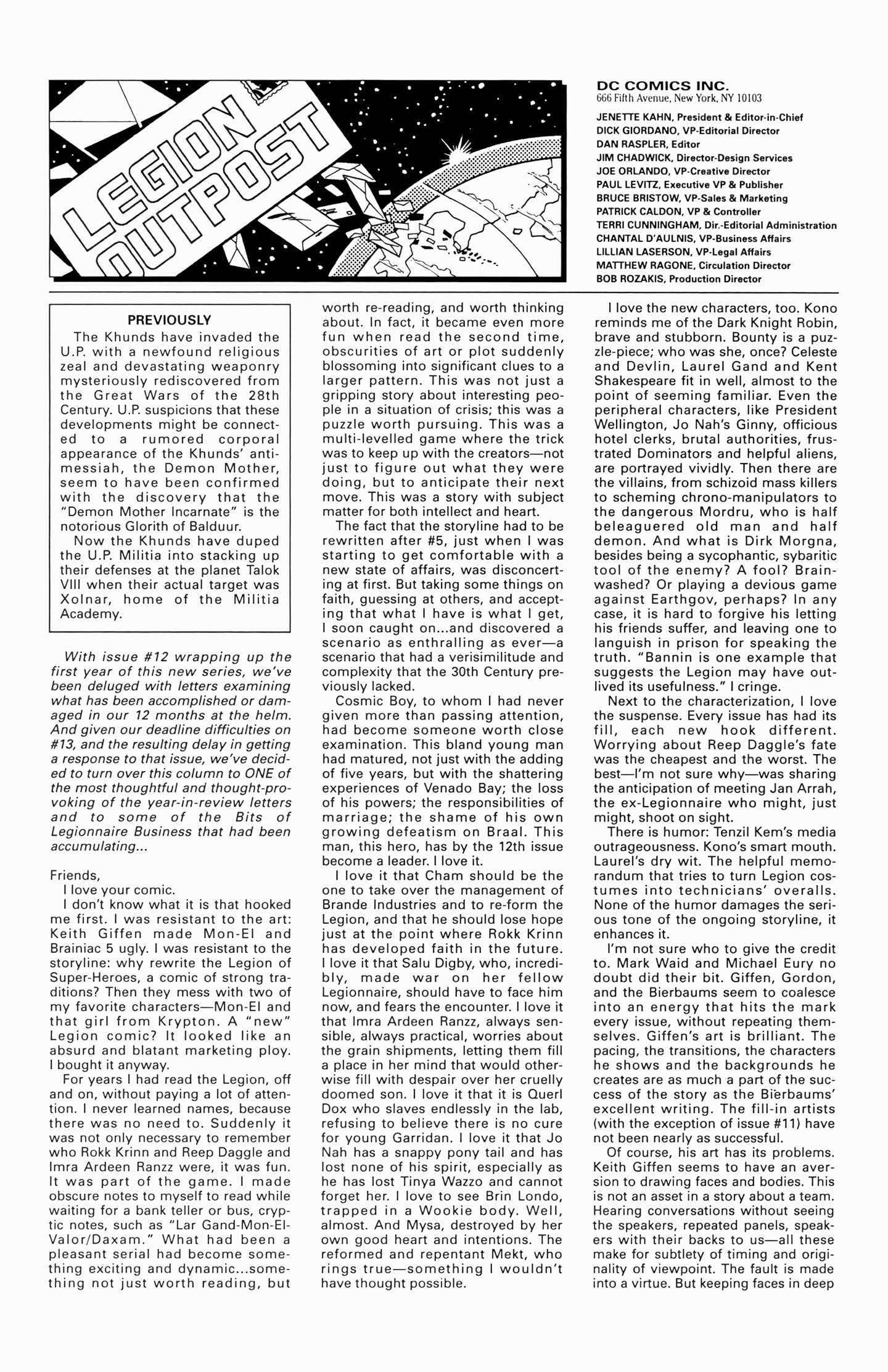 Legion of Super-Heroes (1989) 17 Page 26