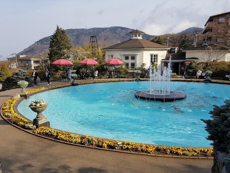公園內的水池