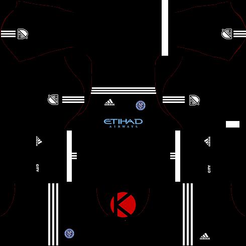 696bc35da New York City FC Kits 2017 - Dream League Soccer - Kuchalana