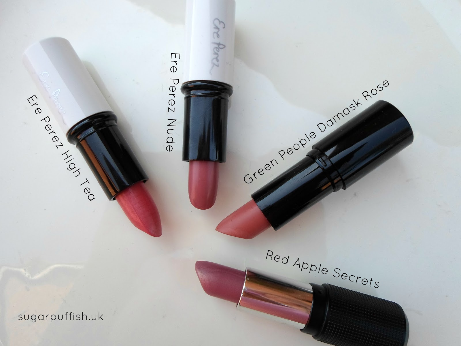 Natural Cosmetics Green Beauty Makeup Lipsticks Ere Perez Green People Red Apple