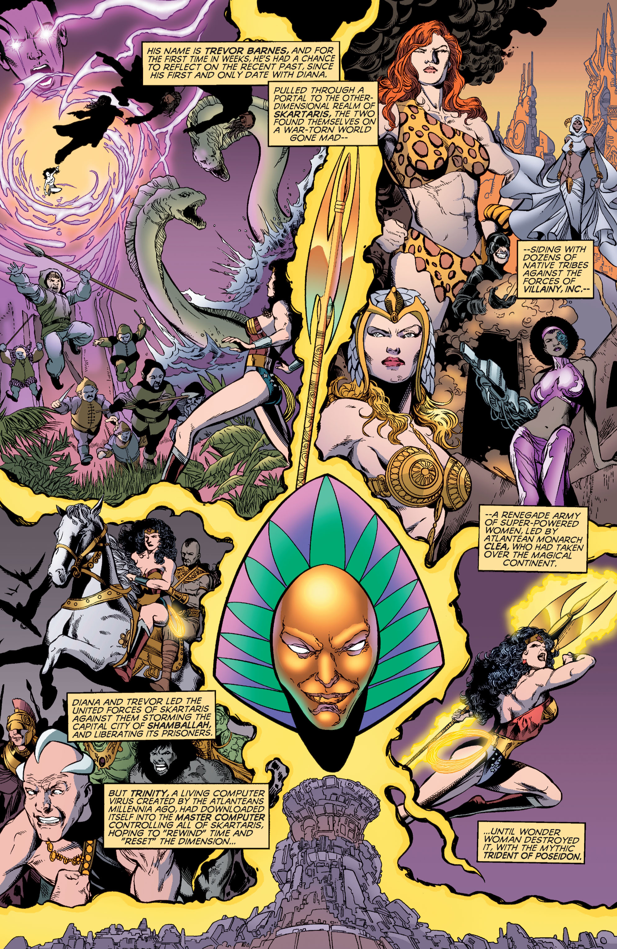 Read online Wonder Woman (1987) comic -  Issue #184 - 5