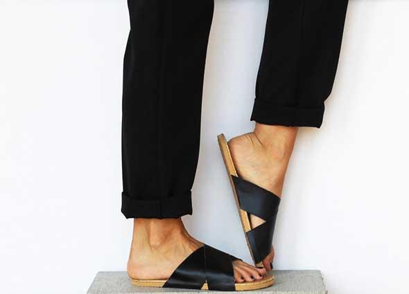 sandalias tiras, reciclar flip flop, manualidades, accesorios diys