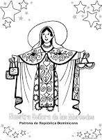 Virgen de las Mercedes patrona de República Dominicana