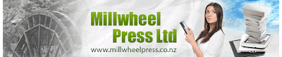 Millwheel Press Ltd is a small, independent publisher founded in 2012 to offer works of speculative and mystery fiction with New Zealand settings and written by New Zealand authors. Millwheel Press publishes works for both adults, teenagers and children in both print and Ebook.