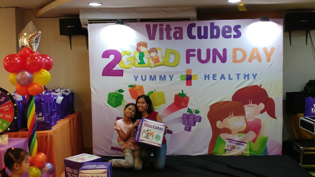 2Good Fun Day promotes yummy healthy taste of Vita Cubes candies