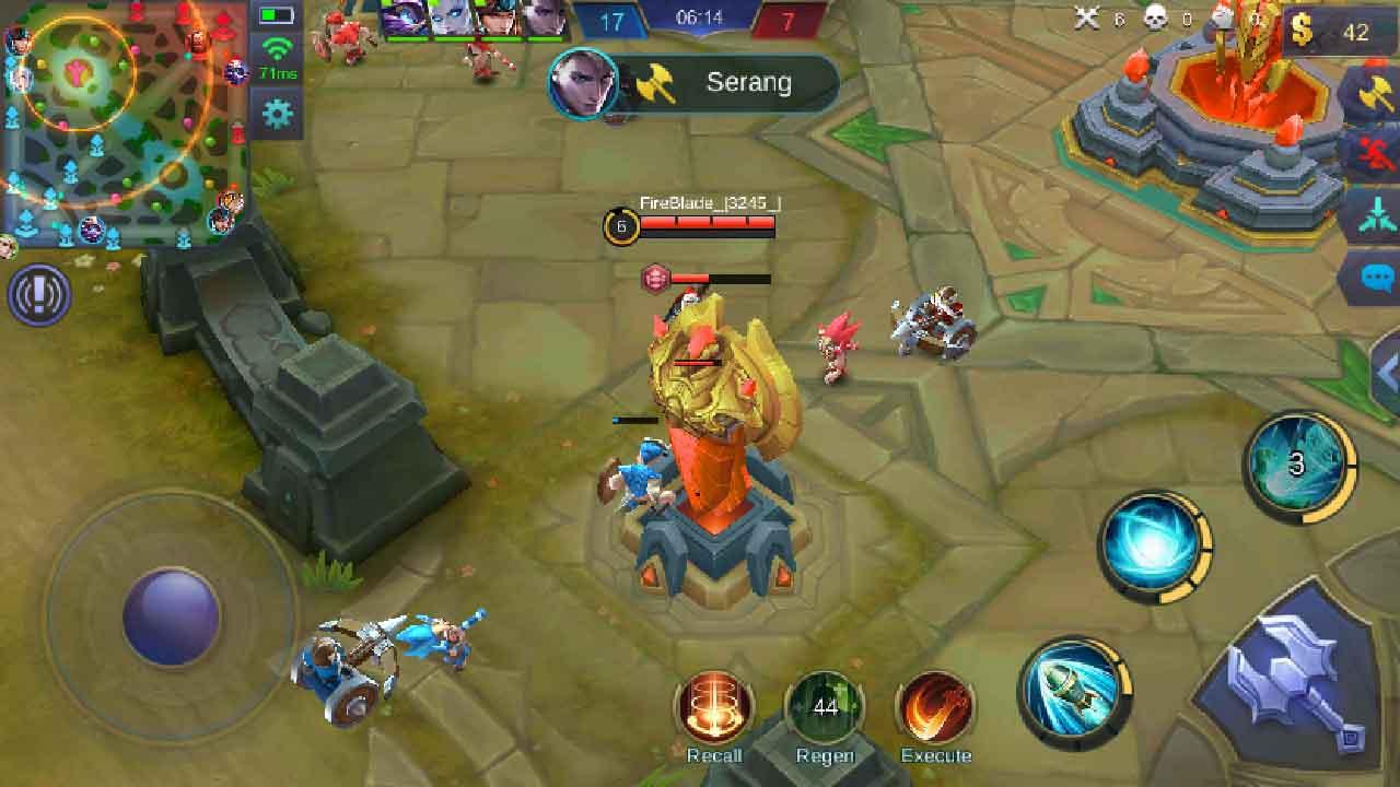 cheat mobile legend semua musuh terlihat di map tanpa root