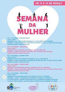 Prefeitura de Ourinhos promove série de evento em comemoração ao Dia da Mulher