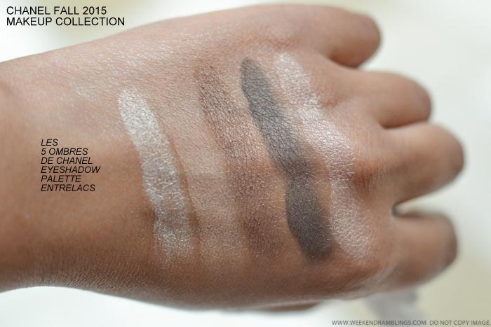 8364a9e1d0c Chanel Les Automnales Fall 2015 Makeup Collection - Les 5 Ombres De Chanel  Eyeshadow Palette -