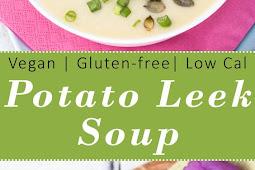 Vegan Potato Leek Soup