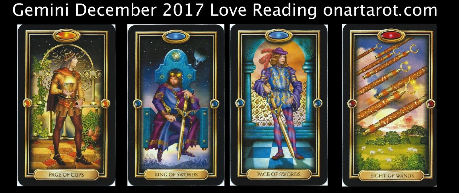 Gemini ♊️ - December 2017 Love Tarot Reading ⎪Excitement