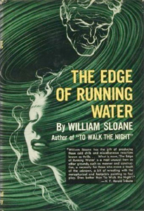 Cover art - The Edge of Running Water (1939), by William Sloane