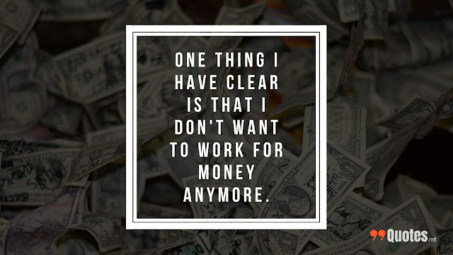 motivational quote about money