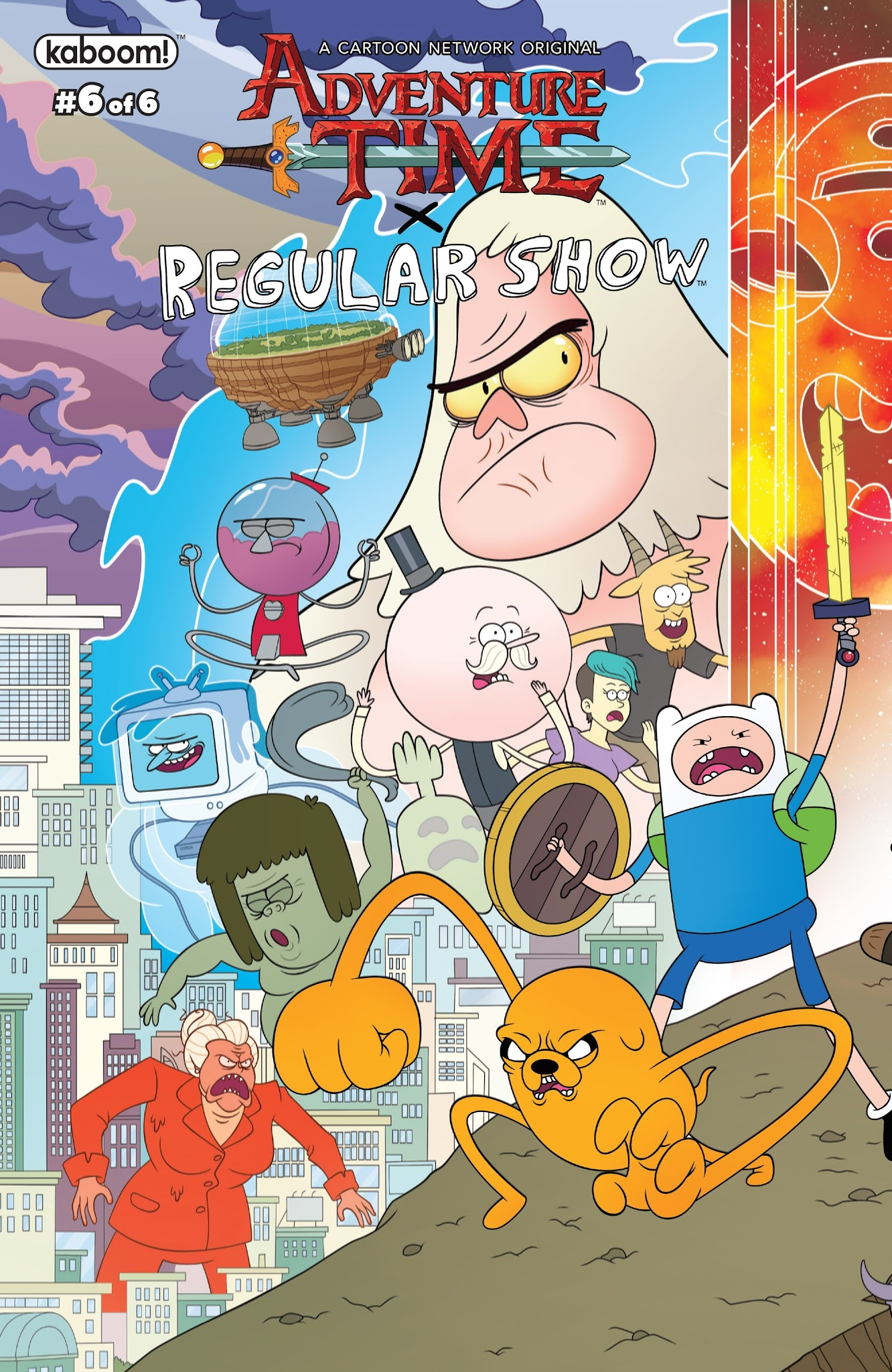 Adventure Time/Regular Show 6 Page 1