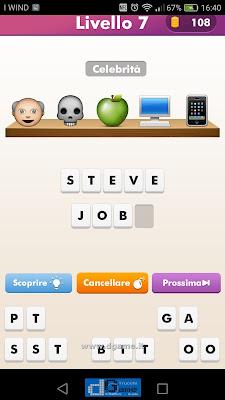 Emoji Quiz soluzione livello  7