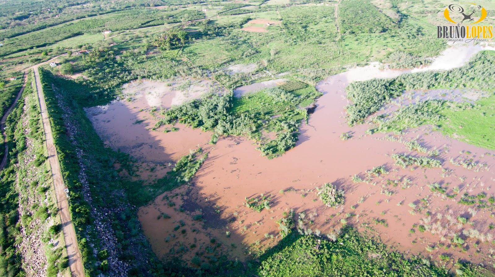 Resultado de imagem para barragem rosário pegou agua